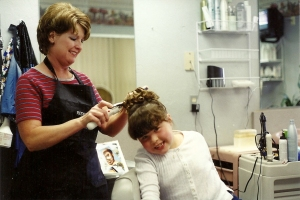 1st Communion Hair